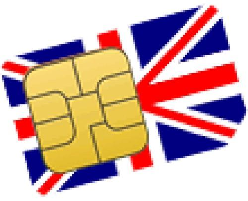 Английские  Сим карты (Лондон - Великобритания)